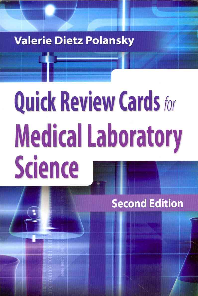Quick Review Cards for Medical Laboratory Science By Polansky, Valerie Dietz